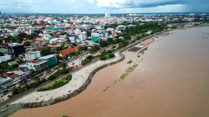 Facebook joins with Mekong River Commission to raise awareness about flood and drought in the Mekong