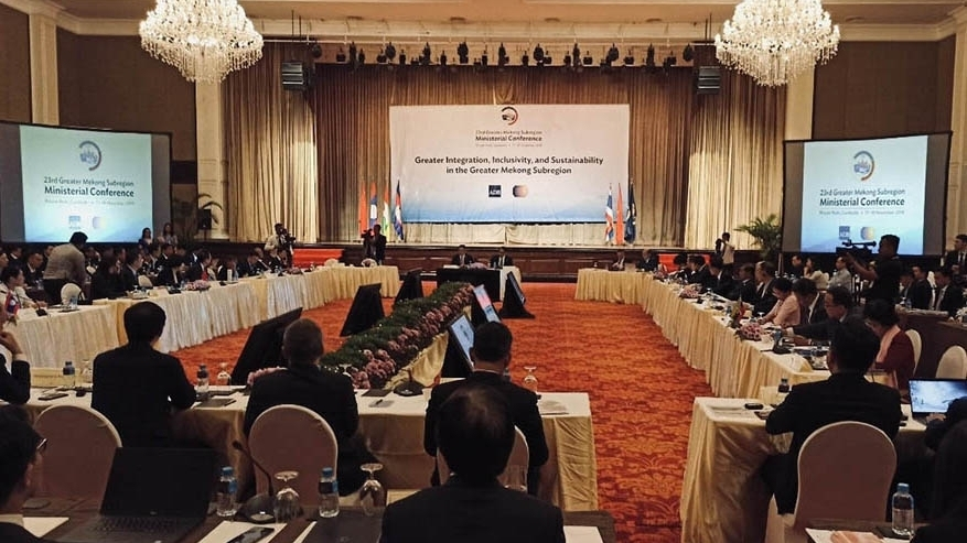GMS Ministerial Conference held in Cambodia